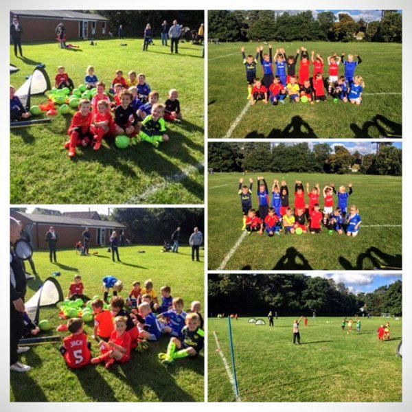 Mini kickers training October 2016